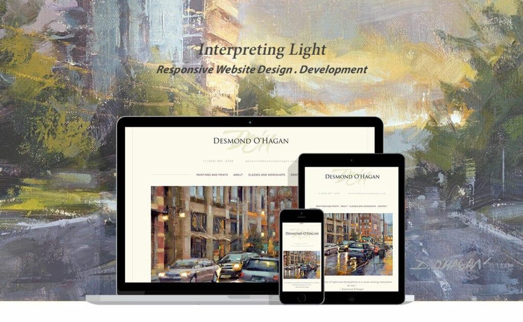 desmond ohagan website