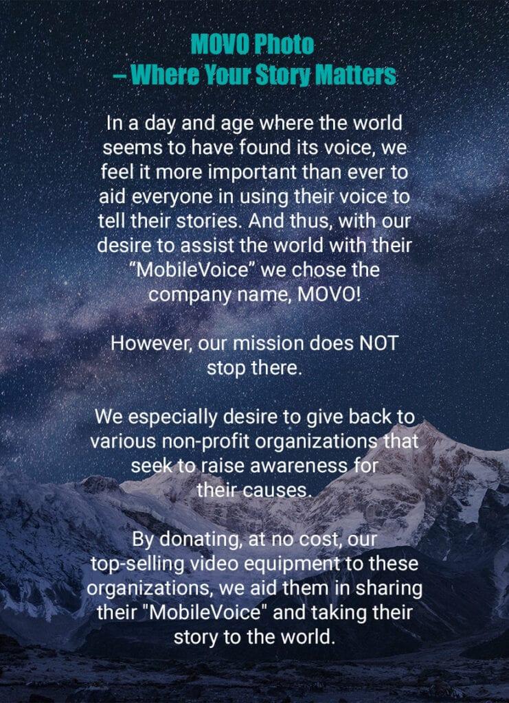 MOVO Photo Brand Manifesto